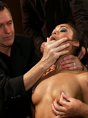 Beautiful Fetish Model is Pushed to her Limits and Pounded Hard in the Ass