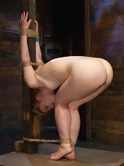 Madison Young Tie it tighter, I like to feel the rope.