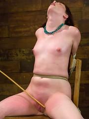 Bronte This slut cums from pain!!!!