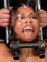 She looks hotter in bondage