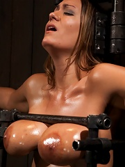 Boobs in Bondage - A day with Trina